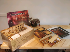 Gloomhaven with wooden insert