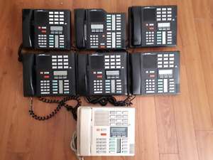 7 Meridian office phones for sale.