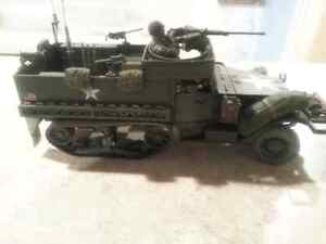 Diecast WWII Half track 1/35th