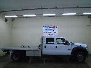 2011 Ford F-550 Superduty Crew Cab XLT With Deck