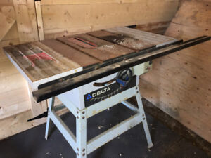 Working Delta Table Saw