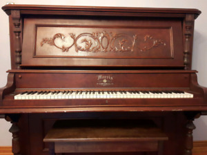 Morris Piano with Storage Bench