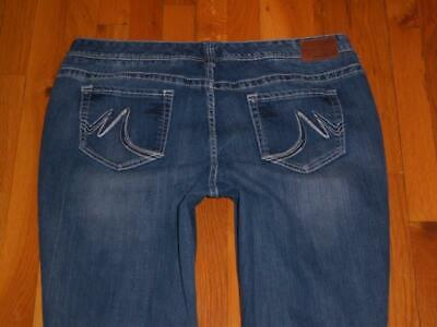 Straight Leg Stretch Shorts (Womens Maurices Straight Leg Stretch Jeans Size 22 Short S Measures 40x29 )