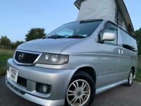 2002 MAZDA BONGO AERO CITY RUNNER 2.5TD AUTO FULL SIDE CAMPER CONVERSION 6 SEATS