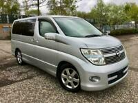 2007 Nissan Elgrand 2007/10 HIGHWAY STAR 3.5 V6 AUTO 8 SEATS MPV LOW MILES MPV P