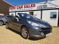 2007 PEUGEOT 207 1.6 SPORT COUPE CABRIOLET HDI 2D 108 BHP DIESEL