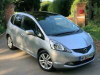 HONDA JAZZ I-VTEC EX Silver Manual Petrol 2010 Cheap to run Bargain