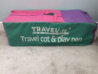 Travel cot