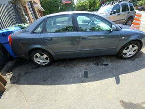 2003 Audi A4 1.8T For Parts Negotiable