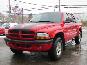 2003 Dodge Dakota 4X4 ** 4 PORTES ** FULL ÉQUIPÉ **