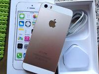 iPhone 5s 16gb gold ( o2 giff gaff )
