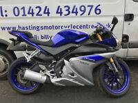 Yamaha YZF-R125 ABS Learner Legal Sports Bike / Nationwide Delivery / Finance