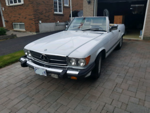 Beautiful 87 benz convertable