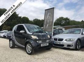 2004 53 SMART FORTWO 0.7 PASSION SOFTOUCH AUTO 61 BHP