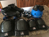 Derby skates riedell size 7