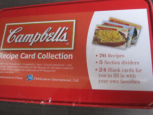 Recipe Card Collection, Campbells, Brand New..REDUCED Kitchener / Waterloo Kitchener Area image 3
