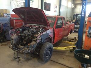 Parting out 2002 Nissan Frontier 4x4