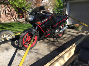 1987 Kawasaki Ninja 250 for $250
