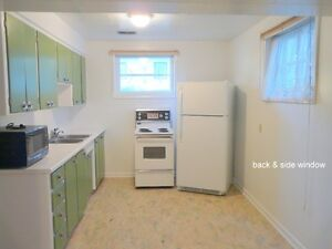 1 BR BASEMENT SUITE - -CENTRAL - NEAR CENTRE & 40 AVE NW -