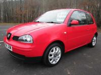 04/54 SEAT AROSA (LUPO) 1.0 S 3DR HATCH IN RED