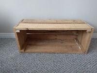 Wedding Decorations - Dessert Table Wood Box