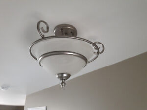A1 Brushed nickel light fixtures