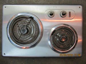 Stainless 2 burner 120v hotplate - Good Working Condition - $40
