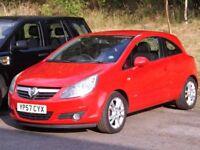 Vauxhall Corsa SXI 16V (red) 2007