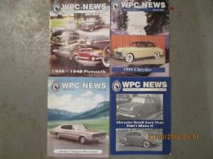 Chrysler Product Fans: WPC News Magazines 2003-2011