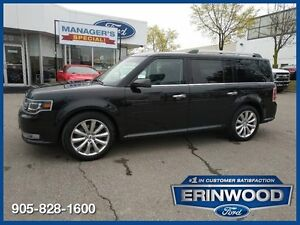 2013 Ford Flex Limited6CYL/LTHR/NAV/REV CAM/BLIS/REM START
