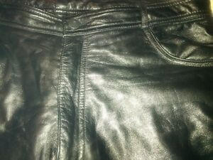 Danier 36/38 Lamb leather jeans Peterborough Peterborough Area image 4
