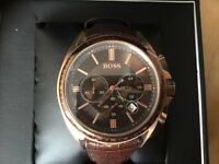 Brand New Boxed - BOSS Men's Watch Brown
