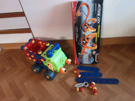 Early learning Centre deluxe big builder, action track set.