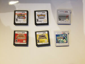 Various Nintendo 3DS, DS, and Wii WiiU Games (Mario, Pokemon)
