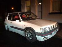 Peugeot 205 1.9GTI gutmann