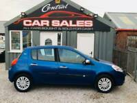 RENAULT CLIO 1.1 I-MUSIC 16V 5D 74 BHP AUX MP3 CONNECT FINANCE PARTX WELCOME