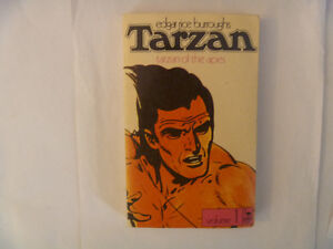 TARZAN Of The Apes (and others) by Edgar Rice Burroughs