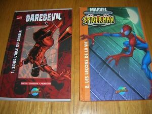 BANDES DESSINÉES SPIDERMAN ET DAREDEVIL