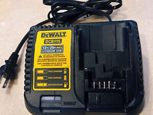 DEWALT DCB115 12V MAX* - 20V MAX* LITHIUM ION BATTERY CHARGER