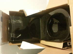 Black gloss High End Toilet new