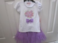 """""""Jona Michelle"""" 2-Piece top and frilly skirt Set, Size 6, BNWT"""