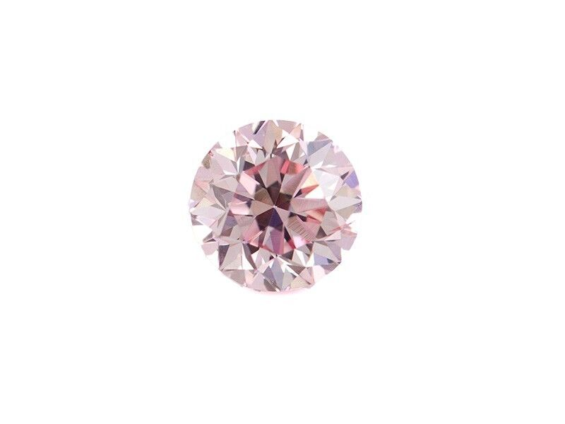 Pink Diamond - 0.38ct ARGYLE Natural Loose Fancy Very Light Pink GIA Round
