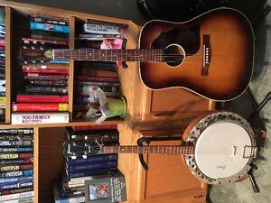 Vintage 1971 Framus 4-string Banjo