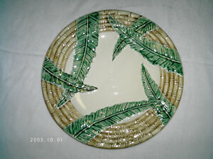 Large Decorative Plate 12 3/4""