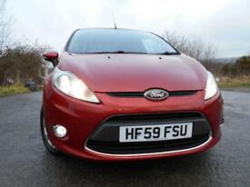2010 59 FORD FIESTA 1.25 ZETEC 3 DOOR **