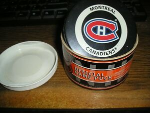 MONTREAL CANADIENS OFFICIAL GAME PUCK