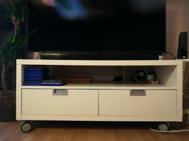 TV and console unit with drawers!