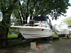 1991 Doral Cavalier 24' Powerboat with Trailer FOR SALE Windsor Region Ontario image 3