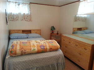 Furnished Basement Suite in Peace River