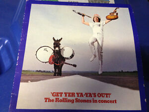 VINTAGE ROLLING STONES IN CONCERT ALBUM 'GET YER YA YA OUT!'
